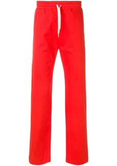 Band Of Outsiders formal track trousers - Red