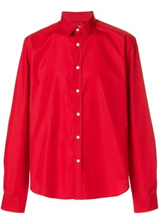 Band Of Outsiders slim-fit button shirt - Red