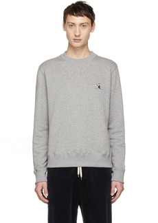 Band of Outsiders Grey Whistler Skiier Sweatshirt