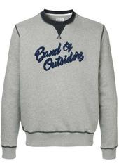 Band of Outsiders logo sweatshirt