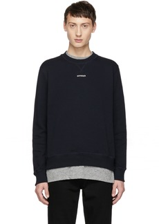 Band of Outsiders Navy 'Outsider' Sweatshirt