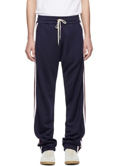 Band of Outsiders Navy Stripe Track Pants