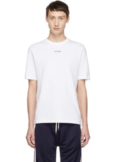 Band of Outsiders White 'Outsider' T-Shirt