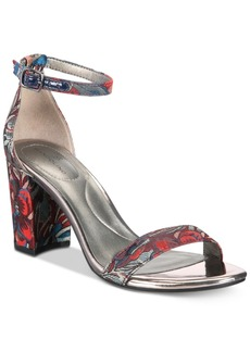Bandolino Armory Block-Heel Sandals Women's Shoes