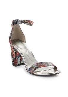 Bandolino Armory Floral Textile Sandals