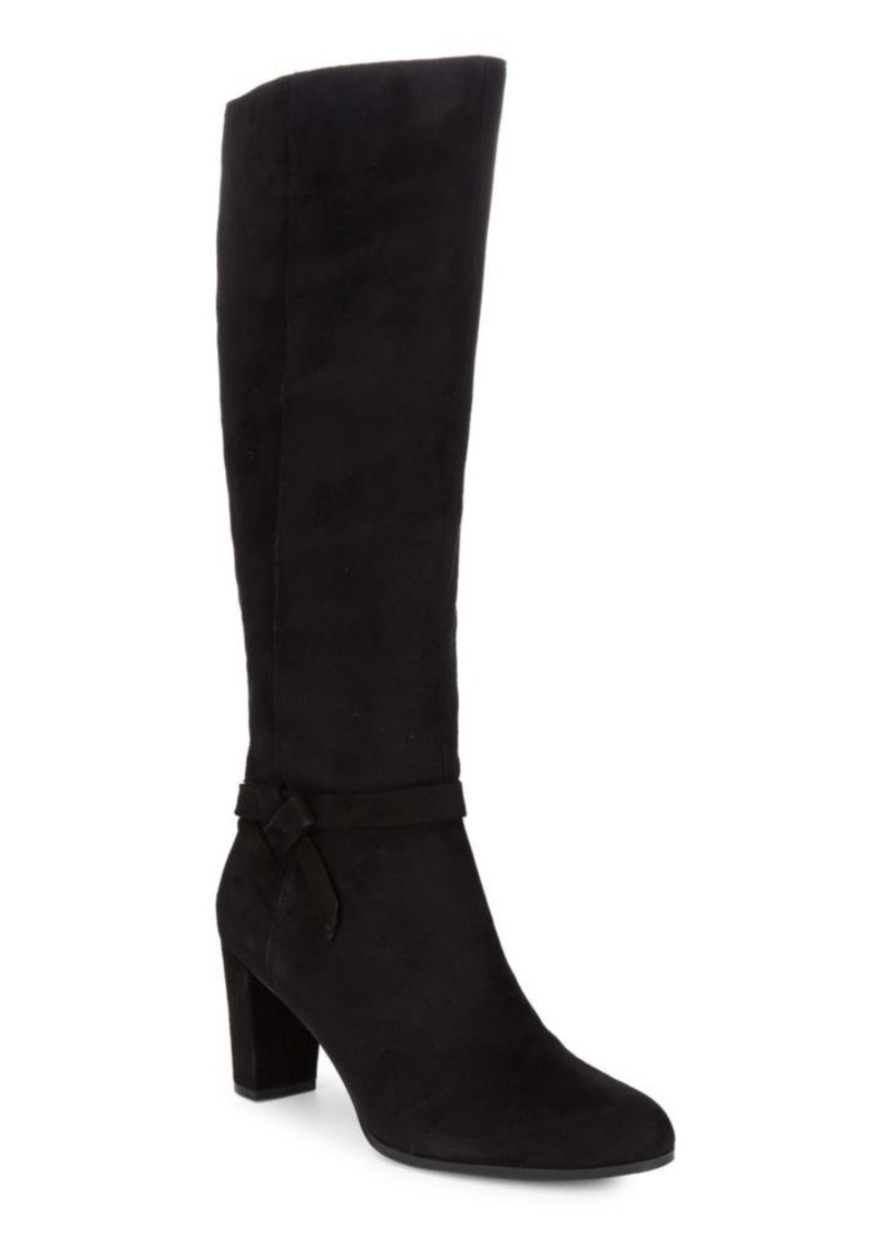 8e6c0cecef9 Bellow Strappy Suede Boots