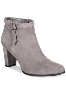 Bandolino Belluna Block-Heel Booties Women's Shoes