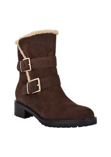 Bandolino Calisa Faux Fur Booties Women's Shoes