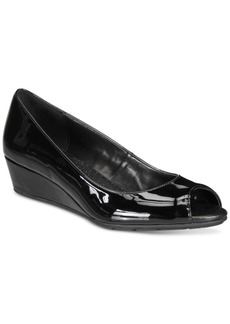 Bandolino Candra Peep-Toe Wedge Pumps Women's Shoes