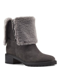 Bandolino Cassy Faux Fur Booties Women's Shoes