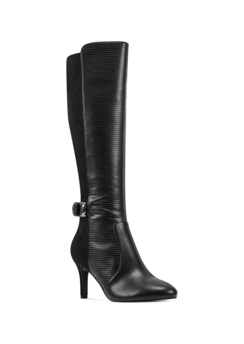 Bandolino Delfie Pointy Toe Tall Dress Boots Women's Shoes