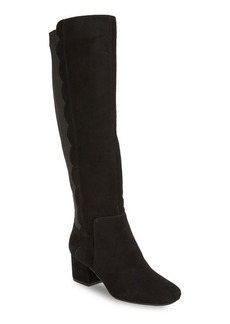 Bandolino Florie Suede Knee-High Boots