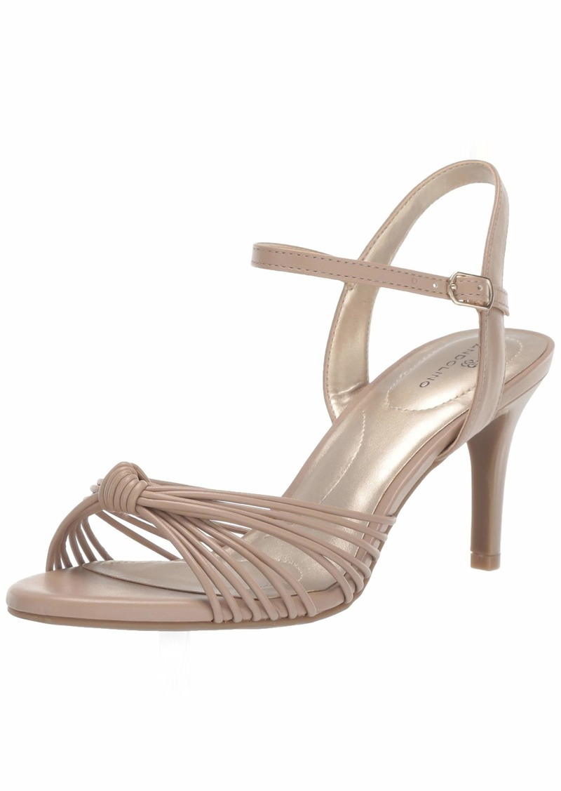 Bandolino Footwear Women's JIONZO Heeled Sandal café Latte  Medium US