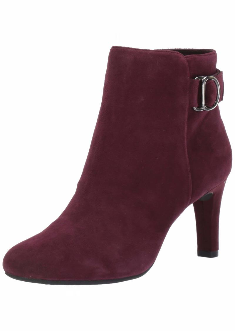 Bandolino Footwear Women's LANNA Ankle Boot Sangria  M US