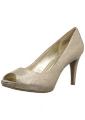 Bandolino Footwear Women's Rainaa Pump gold glamour