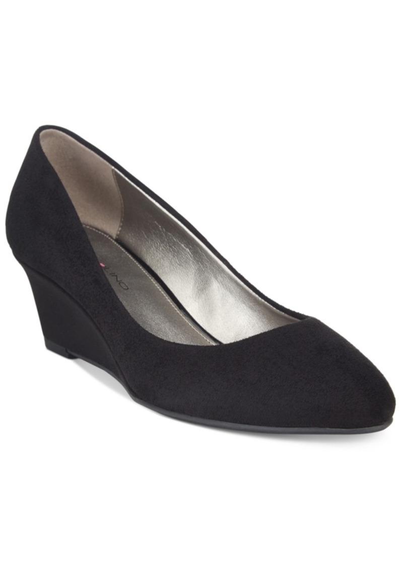 Bandolino Franci Wedge Pumps Women's Shoes