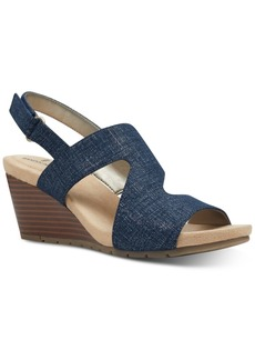 Bandolino Gannet Wedge Sandals Women's Shoes