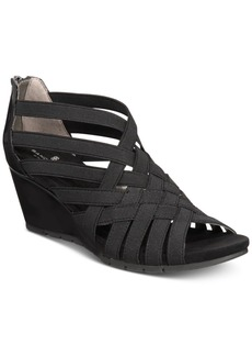 Bandolino Gillmiro Strappy Wedge Sandals Women's Shoes