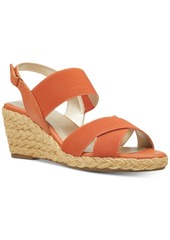 Bandolino Hearsay Espardille Wedges Sandals Women's Shoes
