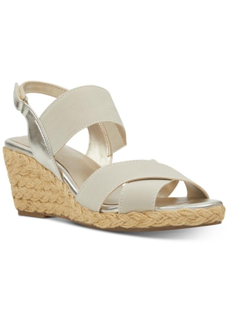Bandolino Hearsay Espardille Wedges Sandals Women's Shoes
