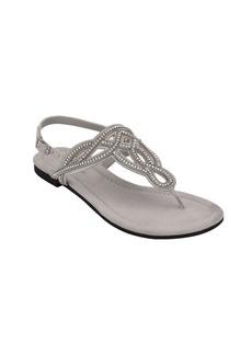 Bandolino Kali T-Strap Flat Sandal Women's Shoes