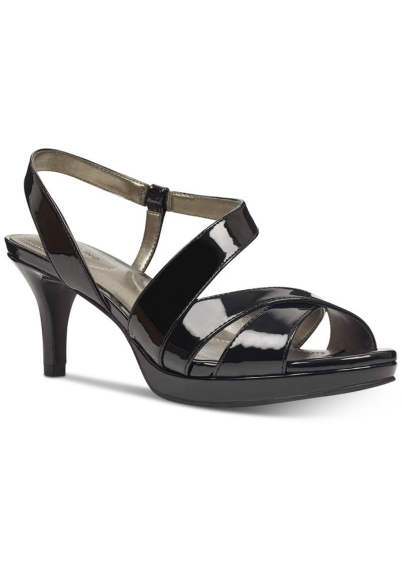 Bandolino Kenosha Slingback Platform Dress Sandals Women's Shoes