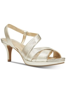 Bandolino Kenosha Slingback Platform Dress Sandals Women's Shoes