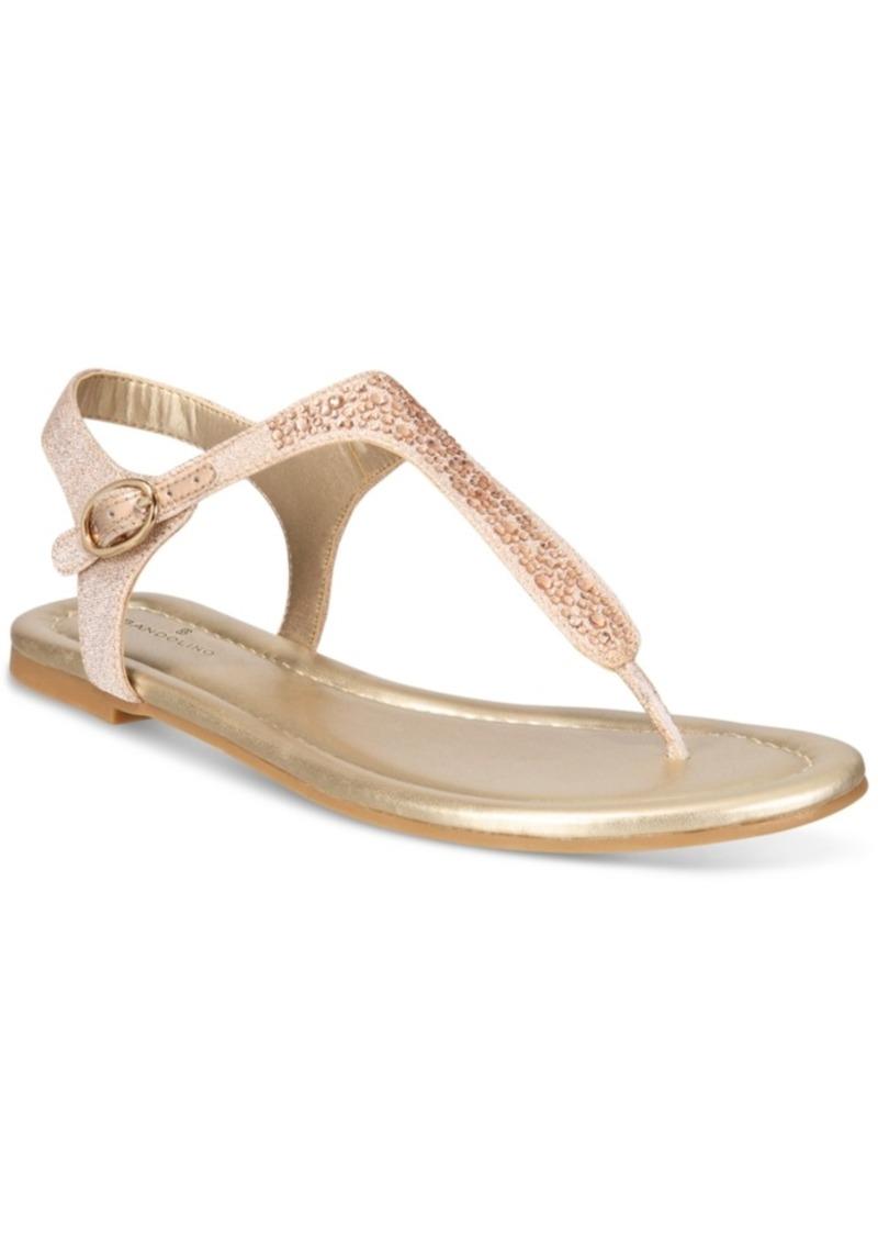 Bandolino Bandolino Kyrie Embellished Flat Sandals Women S