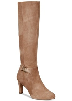 Bandolino Lella Wide-Calf Dress Boots, Created for Macys Women's Shoes