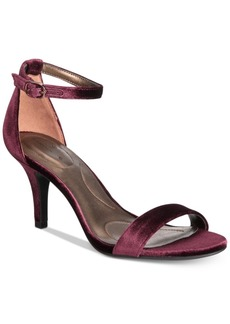 Bandolino Madia Velvet Dress Sandals Women's Shoes