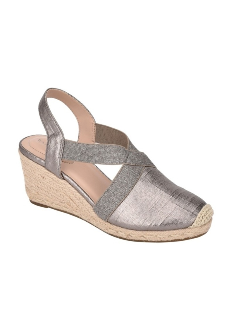 Bandolino Nila Closed-Toe Espadrille Sandal Women's Shoes