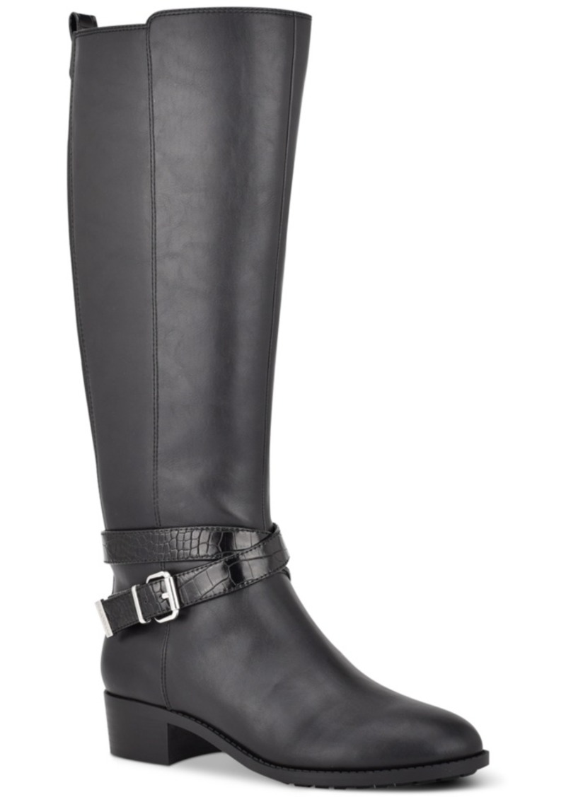 Bandolino Noles Riding Boots Women's Shoes