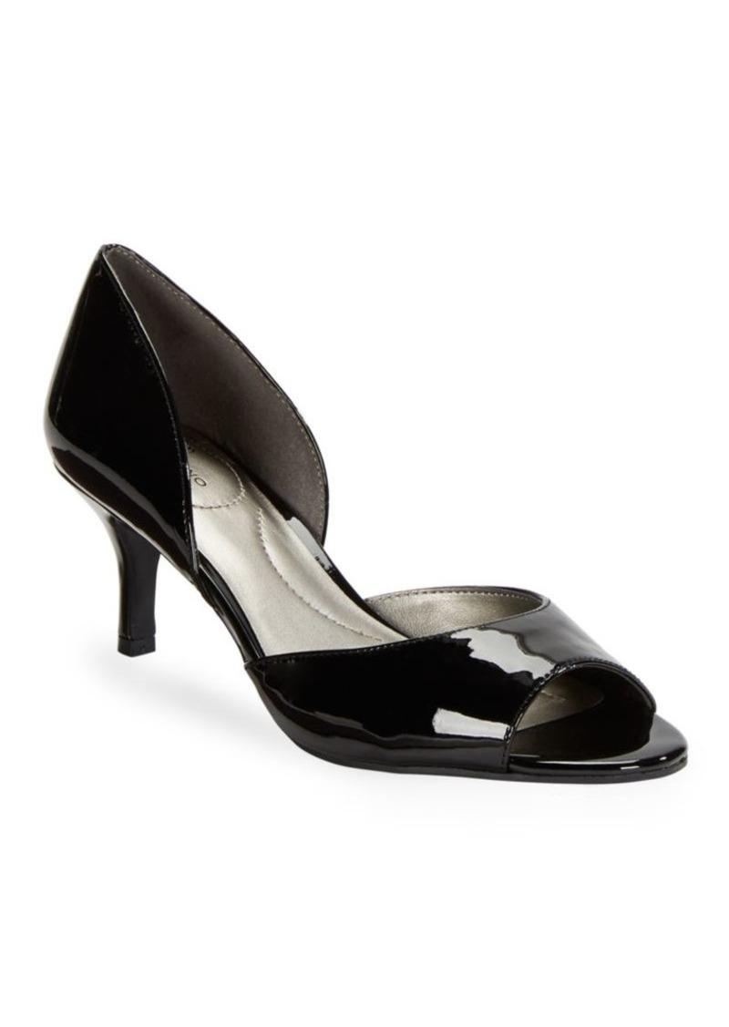 b772c859f70d Bandolino Bandolino Nubilla Patent Open Toe Heels