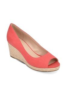 Bandolino Nuri Peep-Toe Wedge Sandal Women's Shoes