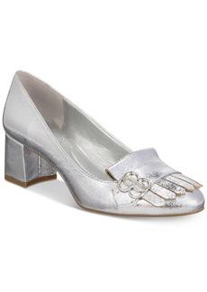 Bandolino Olale Block-Heel Pumps Women's Shoes