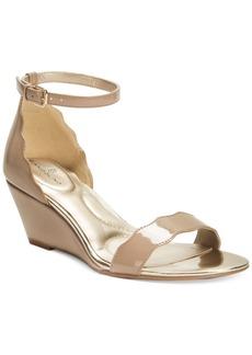 Bandolino Opali Scalloped Wedge Sandals