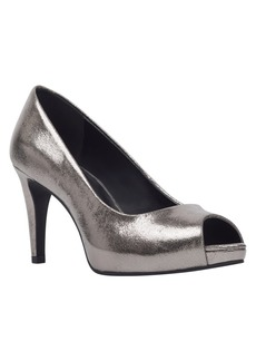 Bandolino Rainaa Peep Toe Platform Pumps Women's Shoes