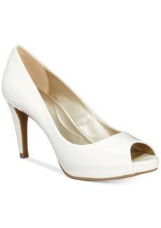 Bandolino Rainaa Peep-Toe Pumps Women's Shoes
