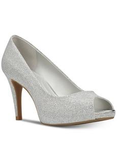 Bandolino Rainaa Peep Toe Platform Pumps Women's Shoes