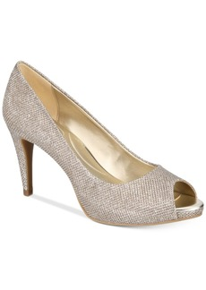 Bandolino Rainaa Peep-Toe Pumps Women's Shoes