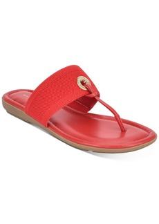 Bandolino Rance T-Strap Flat Sandals Women's Shoes