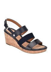 Bandolino Talene 3 Strap Wedge Heel Sandal Women's Shoes