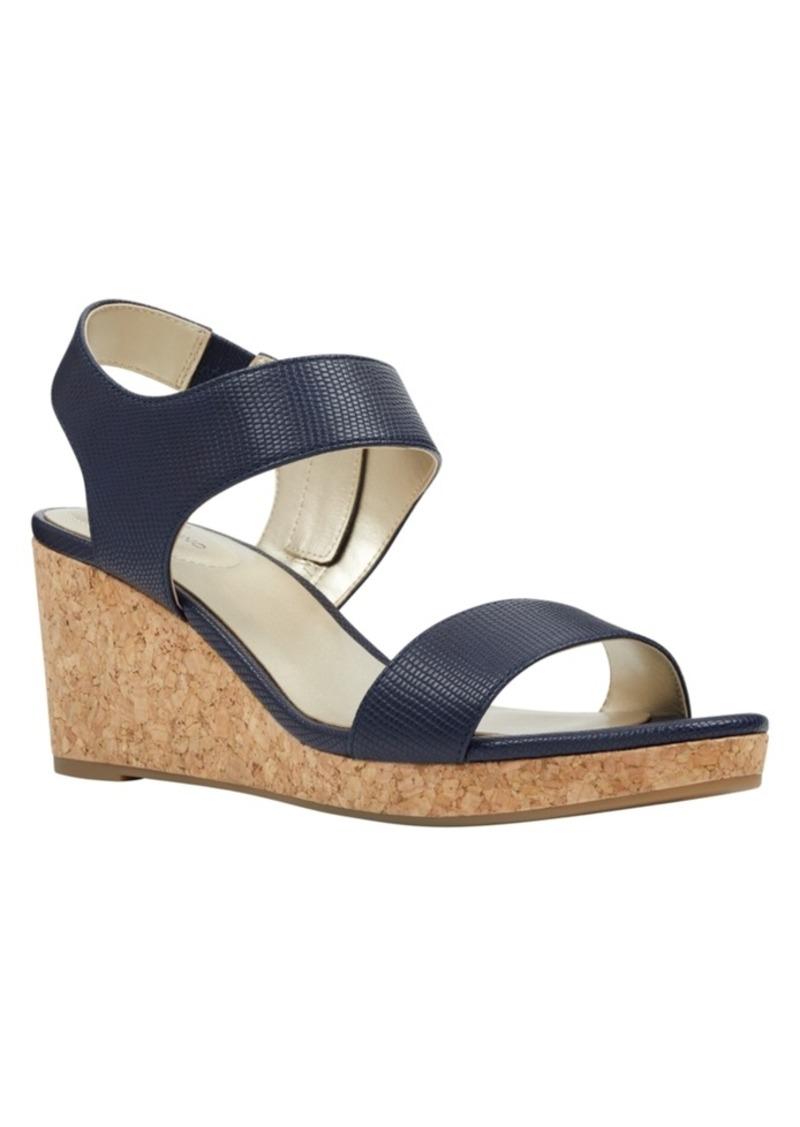 Bandolino Tessa Cork Wedge Sandals Women's Shoes