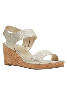 Bandolino Tessa Cork Wedge Sandals Women's Shoes
