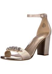 Bandolino Women's Anatolio Heeled Sandal gold  M US