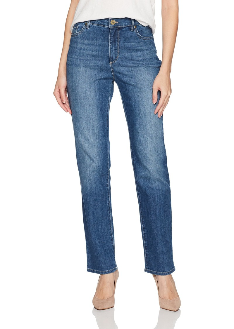 988bc8a2d9cfc Bandolino Bandolino Women s Ava Classic Fit High Rise 5 Pocket Jean