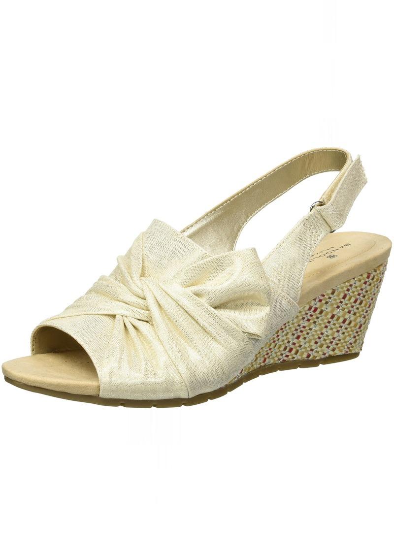 Bandolino Women's Gayla Wedge Sandal   M US