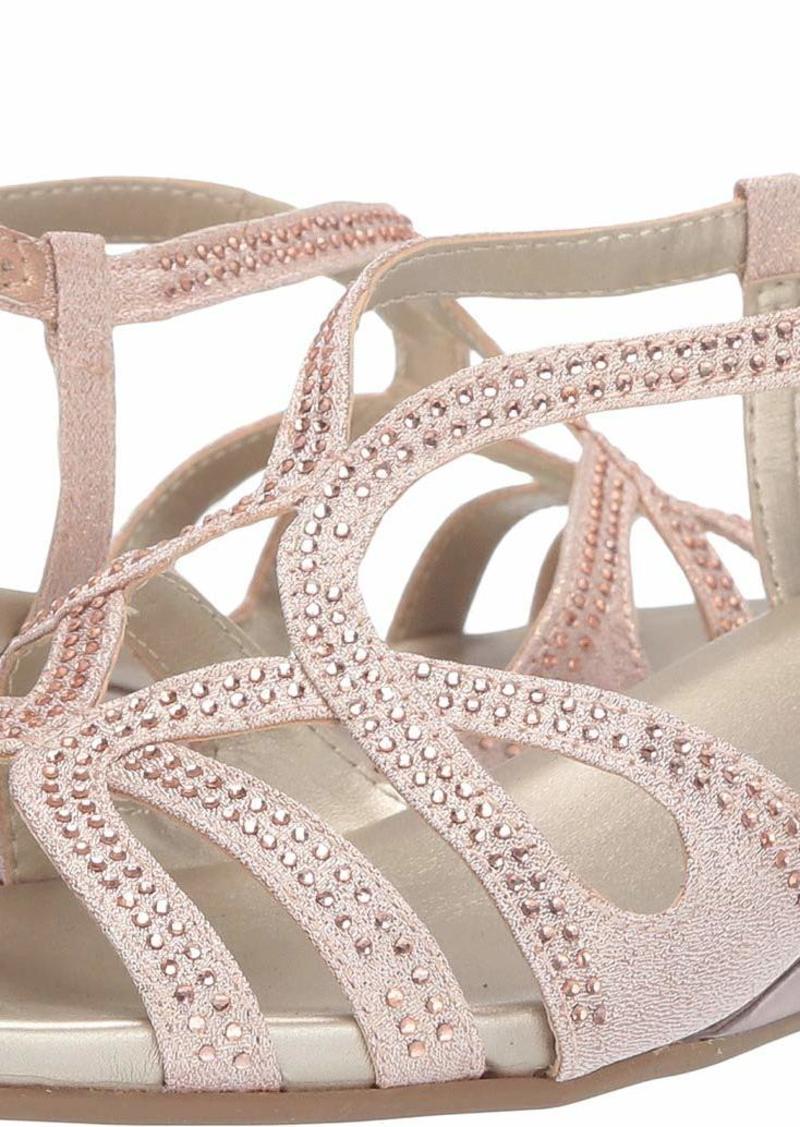 Bandolino Women's GYALA Wedge Sandal  9.5 Medium US
