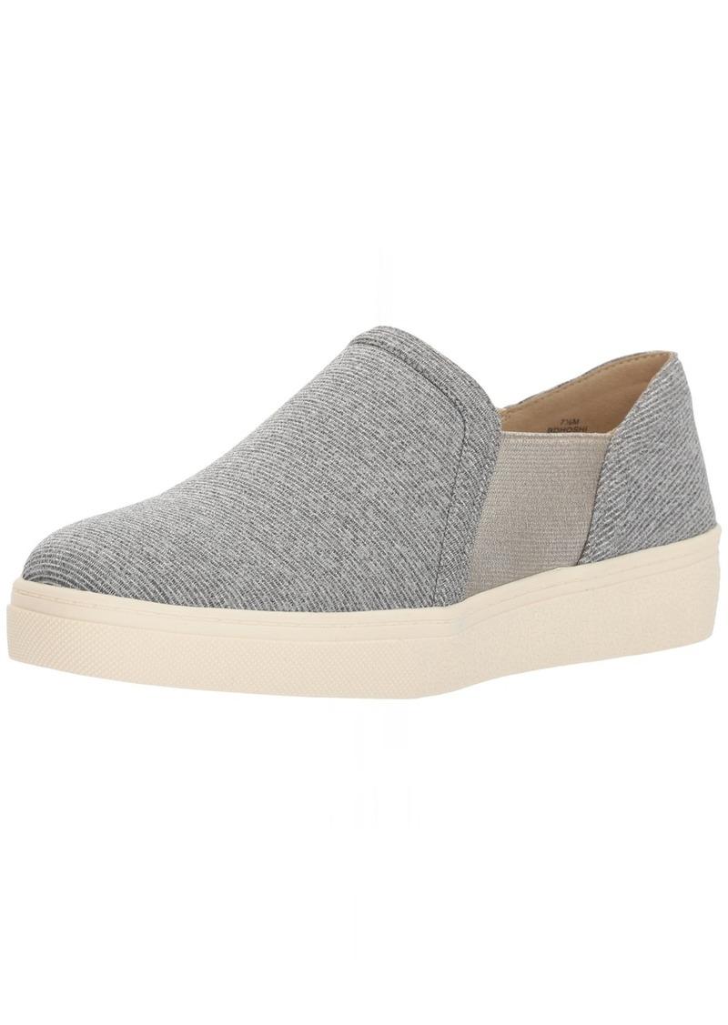 Bandolino Women's Hoshi Sneaker Grey-Gold Jersey