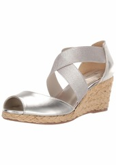 Bandolino Women's HULLEN Wedge Sandal  9.5 Medium US